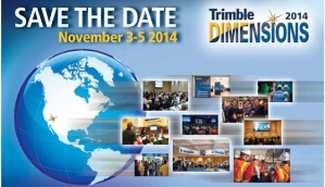 Trimble Dimensions - save the date