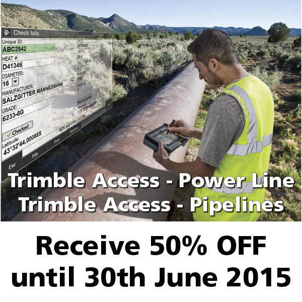 Trimble Access Pipelines and Power Lines