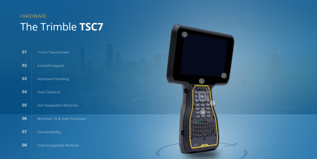 Introducing the Trimble TSC7 with Trimble Access – UPG